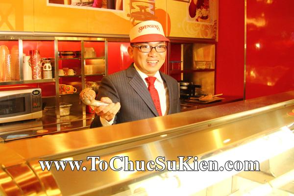 Tổ chức sự kiện Khai trương nhà hàng Kem Swensen's tại Trung tâm thương mại Pandora - Q. Tân Phú - Tp.HCM - 13