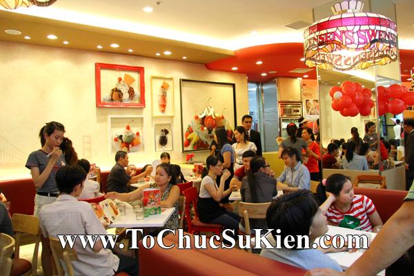 Tổ chức sự kiện Khai trương nhà hàng Kem Swensen's tại Trung tâm thương mại Pandora - Q. Tân Phú - Tp.HCM - 15