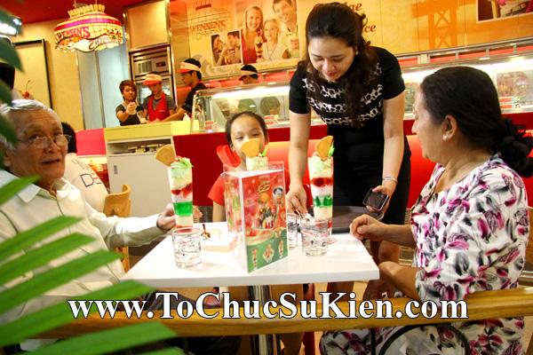Tổ chức sự kiện Khai trương nhà hàng Kem Swensen's tại Trung tâm thương mại Pandora - Q. Tân Phú - Tp.HCM - 17