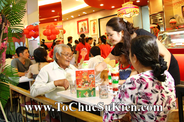 Tổ chức sự kiện Khai trương nhà hàng Kem Swensen's tại Trung tâm thương mại Pandora - Q. Tân Phú - Tp.HCM - 18