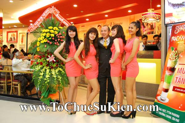 Tổ chức sự kiện Khai trương nhà hàng Kem Swensen's tại Trung tâm thương mại Pandora - Q. Tân Phú - Tp.HCM - 21