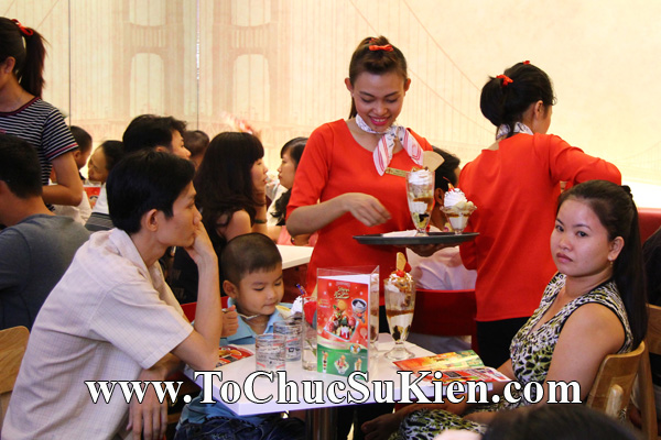 Tổ chức sự kiện Khai trương nhà hàng Kem Swensen's tại Trung tâm thương mại Pandora - Q. Tân Phú - Tp.HCM - 22