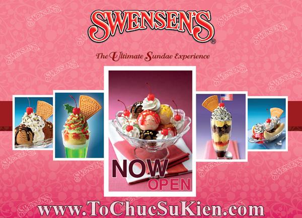 Tổ chức sự kiện Họp báo - Pre-Openning - Nhà hàng kem swensen's tại GrandView - Q.7 - 01