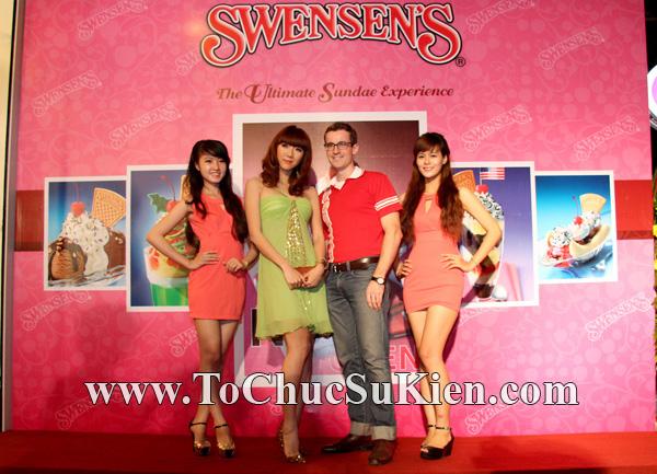 Tổ chức sự kiện Họp báo - Pre-Openning - Nhà hàng kem swensen's tại GrandView - Q.7 - 09
