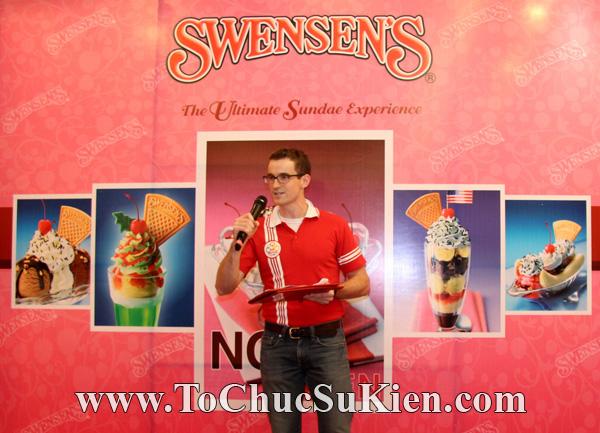 Tổ chức sự kiện Họp báo - Pre-Openning - Nhà hàng kem swensen's tại GrandView - Q.7 - 16