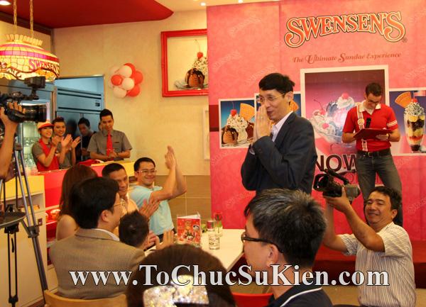 Tổ chức sự kiện Họp báo - Pre-Openning - Nhà hàng kem swensen's tại GrandView - Q.7 - 17
