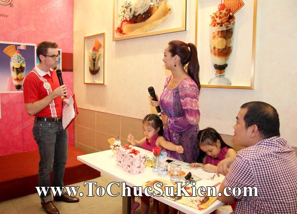 Tổ chức sự kiện Họp báo - Pre-Openning - Nhà hàng kem swensen's tại GrandView - Q.7 - 21