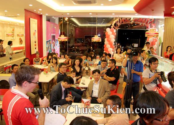 Tổ chức sự kiện Họp báo - Pre-Openning - Nhà hàng kem swensen's tại GrandView - Q.7 - 22