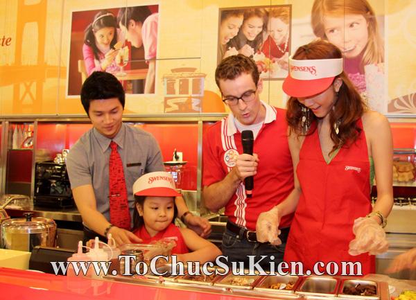 Tổ chức sự kiện Họp báo - Pre-Openning - Nhà hàng kem swensen's tại GrandView - Q.7 - 23