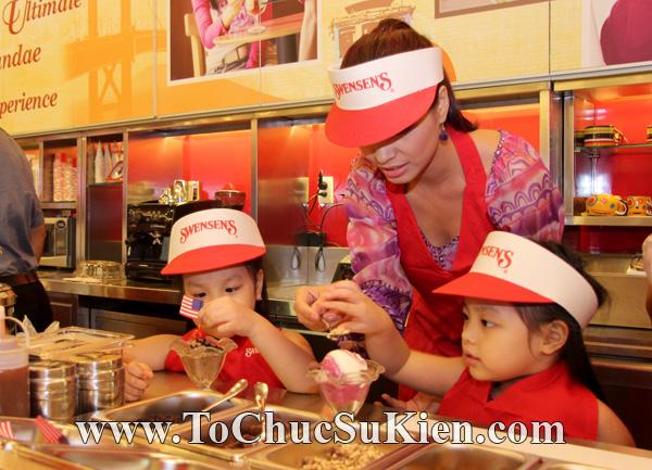 Tổ chức sự kiện Họp báo - Pre-Openning - Nhà hàng kem swensen's tại GrandView - Q.7 - 24