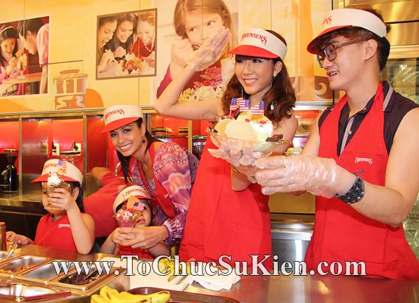 Tổ chức sự kiện Họp báo - Pre-Openning - Nhà hàng kem swensen's tại GrandView - Q.7 - 25