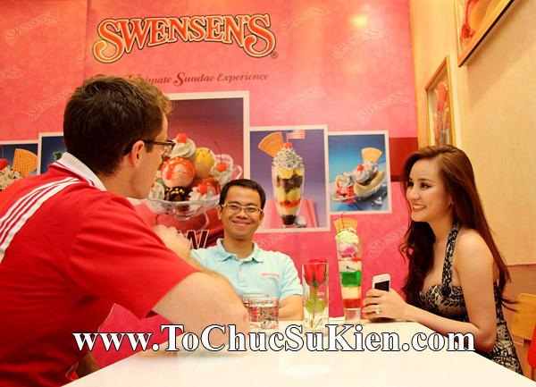 Tổ chức sự kiện Họp báo - Pre-Openning - Nhà hàng kem swensen's tại GrandView - Q.7 - 34