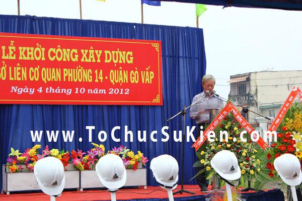 Tổ chức sự kiện Lễ khởi công xây dựng Trụ sở liên cơ quan phường 14  - Quận Gò Vấp - 04