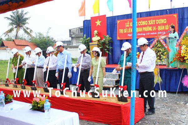 Tổ chức sự kiện Lễ khởi công xây dựng Trụ sở liên cơ quan phường 14  - Quận Gò Vấp - 08