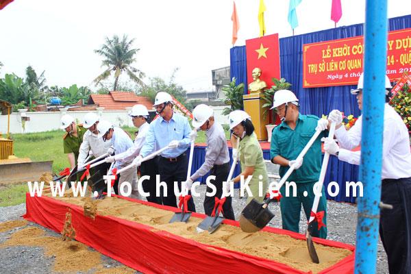 Tổ chức sự kiện Lễ khởi công xây dựng Trụ sở liên cơ quan phường 14  - Quận Gò Vấp - 09