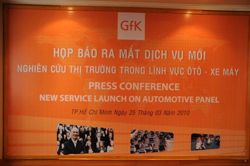 Tổ chức họp báo ra mắt dịch vụ mới cho Tập đoàn GfK Việt Nam tạikhách sạn Caravelle 1
