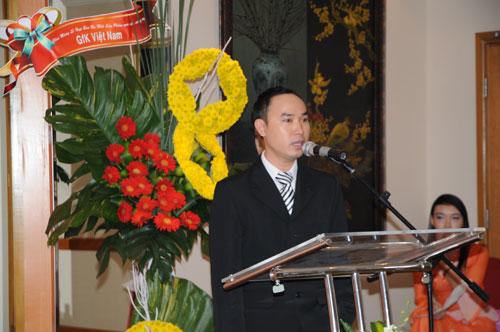 Tổ chức họp báo ra mắt dịch vụ mới cho Tập đoàn GfK Việt Nam tạikhách sạn Caravelle 15