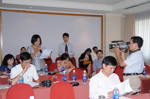 Tổ chức họp báo ra mắt dịch vụ mới cho Tập đoàn GfK Việt Nam tạikhách sạn Caravelle 18