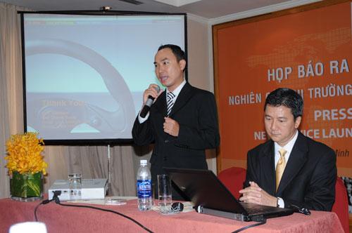 Tổ chức họp báo ra mắt dịch vụ mới cho Tập đoàn GfK Việt Nam tạikhách sạn Caravelle 20
