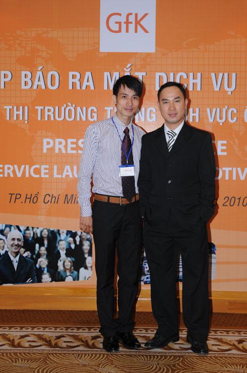 Tổ chức họp báo ra mắt dịch vụ mớicho Tậpđoàn GfK Việt Nam tại khách sạn Caravelle 21