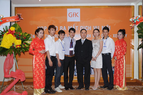 Tổ chức họp báo ra mắt dịch vụ mới cho Tập đoàn GfK Việt Nam tạikhách sạn Caravelle 22
