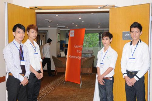 Tổ chức họp báo ra mắt dịch vụ mới cho Tập đoàn GfK Việt Nam tạikhách sạn Caravelle 3