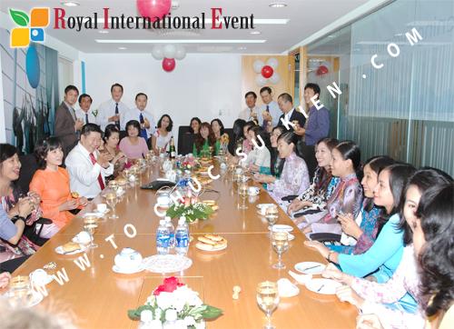 Tổ chức sự kiện Lễ khai trương văn phòng Công ty IMS Việt Nam