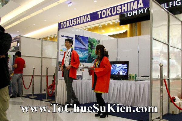 Thi công - Cung cấp thiết bị - gian hàng Hội chợ Nhật Bản -