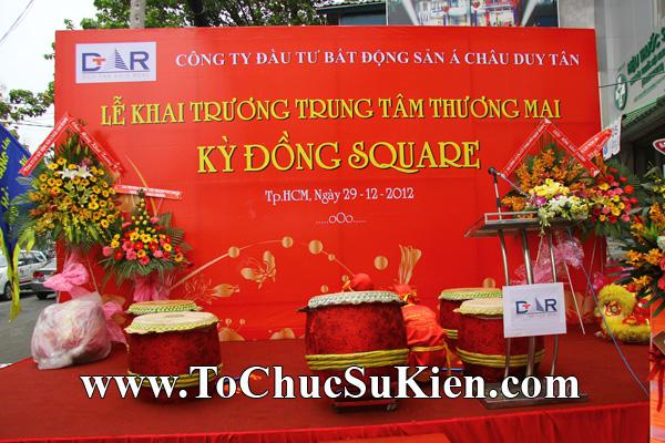 Tổ chức sự kiện Khai trương Trung tâm thương mại Kỳ Đồng - Kỳ Đồng Square - 01