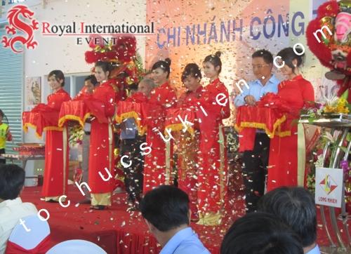 Tổ Chức Sự Kiện Lễ Khánh Thành Nhà Máy Long Nhiên