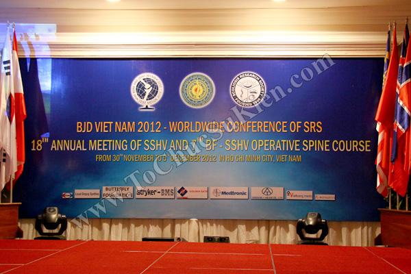 Tổ chức sự kiện: Cung cấp thiết bị, thi công gian hàng cho Hội thảo BJD Việt Nam 2012 tại Khách sạn Majestic HCM - 01