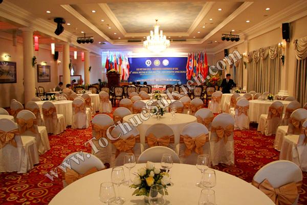Tổ chức sự kiện: Cung cấp thiết bị, thi công gian hàng cho Hội thảo BJD Việt Nam 2012 tại Khách sạn Majestic HCM - 02