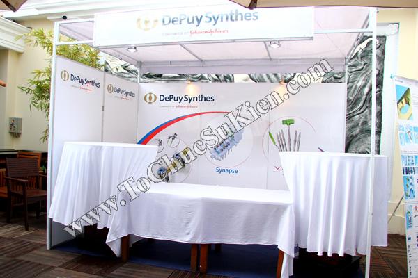 Tổ chức sự kiện: Cung cấp thiết bị, thi công gian hàng cho Hội thảo BJD Việt Nam 2012 tại Khách sạn Majestic HCM - 03