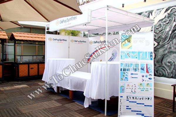 Tổ chức sự kiện: Cung cấp thiết bị, thi công gian hàng cho Hội thảo BJD Việt Nam 2012 tại Khách sạn Majestic HCM - 04