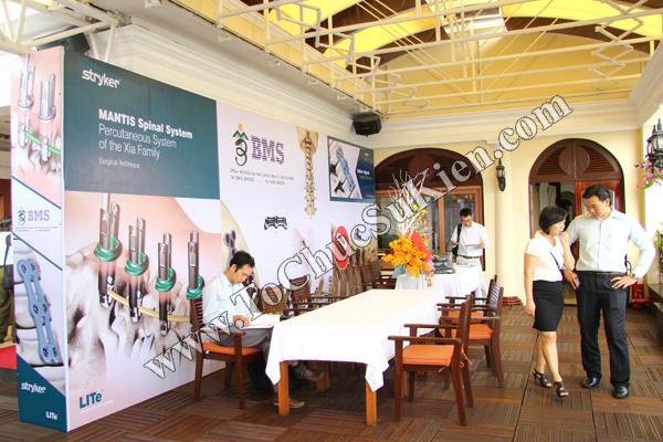 Tổ chức sự kiện: Cung cấp thiết bị, thi công gian hàng cho Hội thảo BJD Việt Nam 2012 tại Khách sạn Majestic HCM - 05