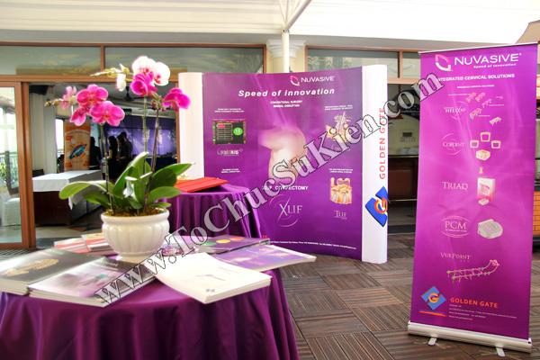Tổ chức sự kiện: Cung cấp thiết bị, thi công gian hàng cho Hội thảo BJD Việt Nam 2012 tại Khách sạn Majestic HCM - 06