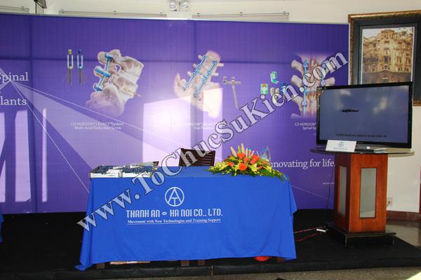 Tổ chức sự kiện: Cung cấp thiết bị, thi công gian hàng cho Hội thảo BJD Việt Nam 2012 tại Khách sạn Majestic HCM - 08