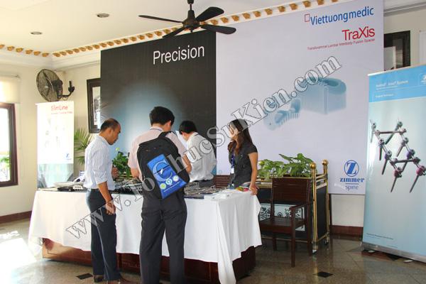 Tổ chức sự kiện: Cung cấp thiết bị, thi công gian hàng cho Hội thảo BJD Việt Nam 2012 tại Khách sạn Majestic HCM - 09