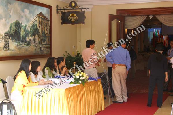 Tổ chức sự kiện: Cung cấp thiết bị, thi công gian hàng cho Hội thảo BJD Việt Nam 2012 tại Khách sạn Majestic HCM - 12