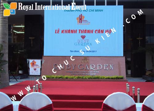 Lễ khai trương chung cư cao cấp Ruby Garden 03