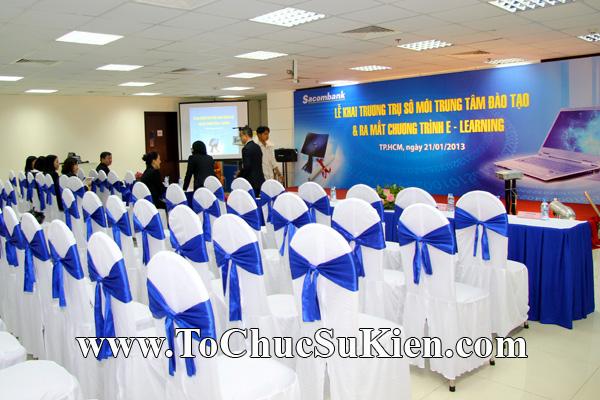 Cung cấp cho thuê thiết bị tổ chức sự kiện Lễ khai trương trụ sở mới Trung tâm đào tạo của Sacombank - 01