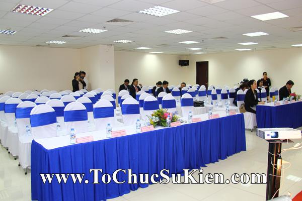 Cung cấp cho thuê thiết bị tổ chức sự kiện Lễ khai trương trụ sở mới Trung tâm đào tạo của Sacombank - 02