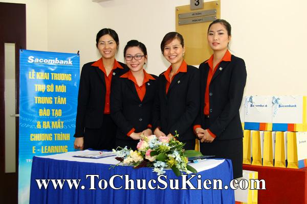 Cung cấp cho thuê thiết bị tổ chức sự kiện Lễ khai trương trụ sở mới Trung tâm đào tạo của Sacombank - 03