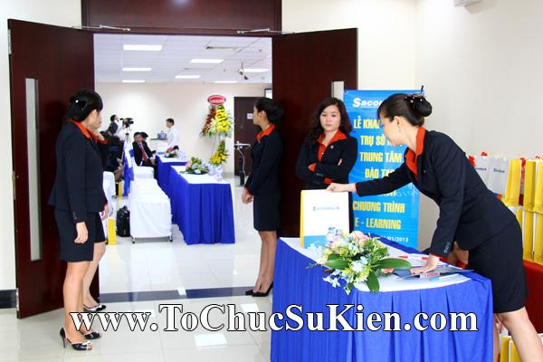 Cung cấp cho thuê thiết bị tổ chức sự kiện Lễ khai trương trụ sở mới Trung tâm đào tạo của Sacombank - 04