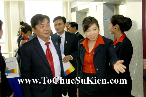 Cung cấp cho thuê thiết bị tổ chức sự kiện Lễ khai trương trụ sở mới Trung tâm đào tạo của Sacombank - 06