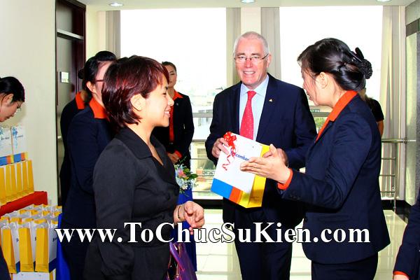 Cung cấp cho thuê thiết bị tổ chức sự kiện Lễ khai trương trụ sở mới Trung tâm đào tạo của Sacombank - 08