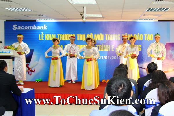 Cung cấp cho thuê thiết bị tổ chức sự kiện Lễ khai trương trụ sở mới Trung tâm đào tạo của Sacombank - 10