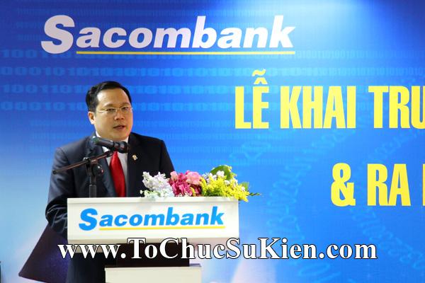 Cung cấp cho thuê thiết bị tổ chức sự kiện Lễ khai trương trụ sở mới Trung tâm đào tạo của Sacombank - 15