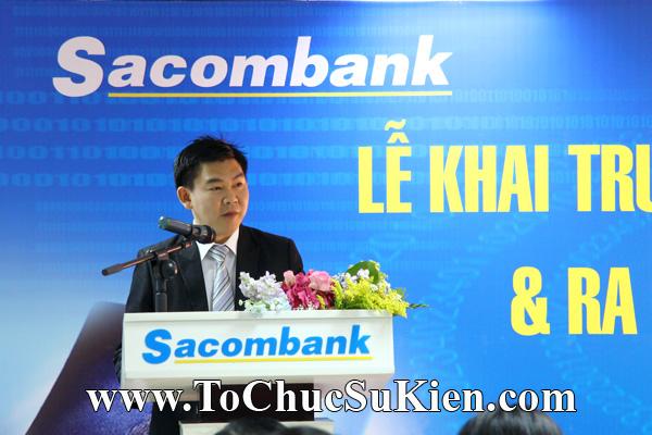 Cung cấp cho thuê thiết bị tổ chức sự kiện Lễ khai trương trụ sở mới Trung tâm đào tạo của Sacombank - 17