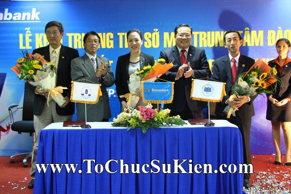 Cung cấp cho thuê thiết bị tổ chức sự kiện Lễ khai trương trụ sở mới Trung tâm đào tạo của Sacombank - 24